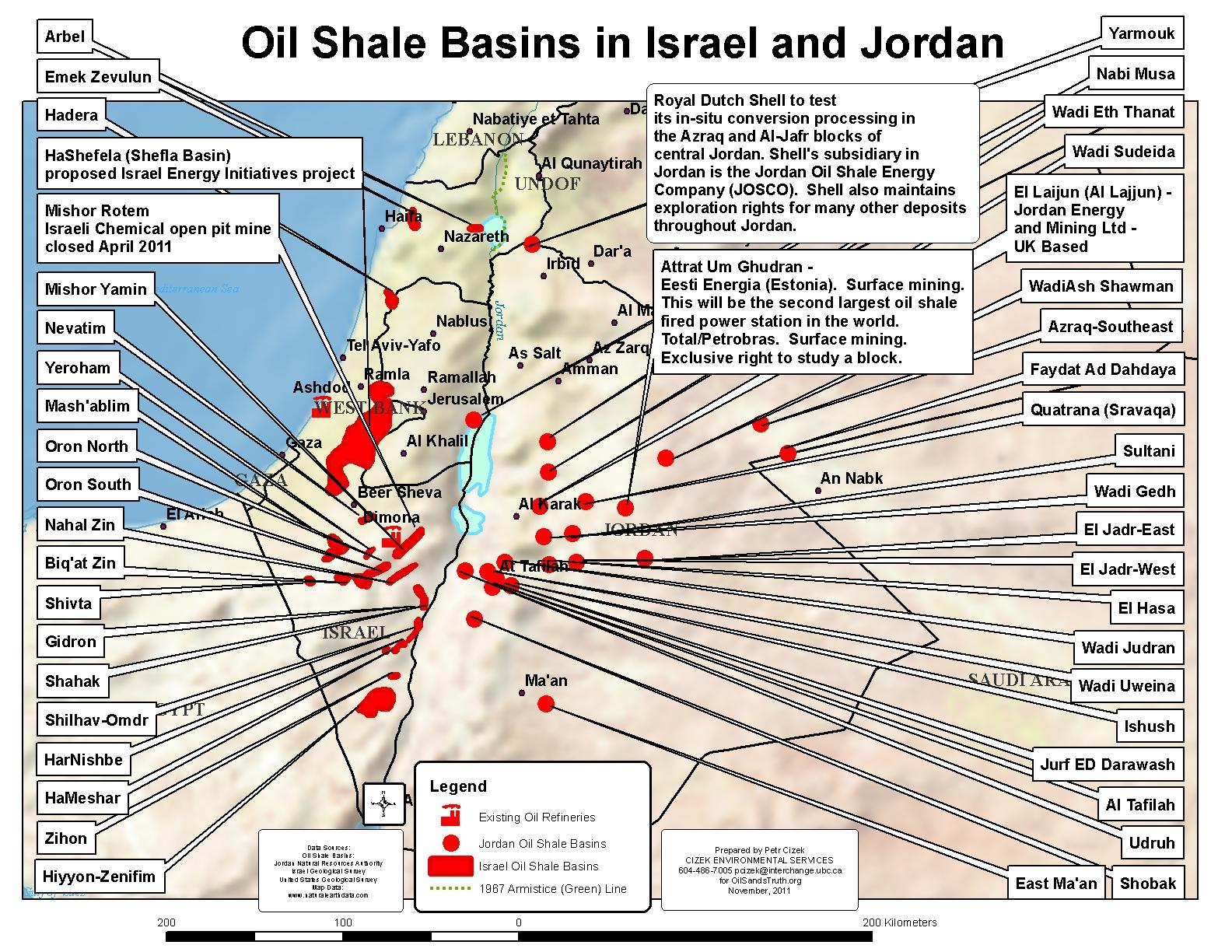 Jordan Tar Sands World
